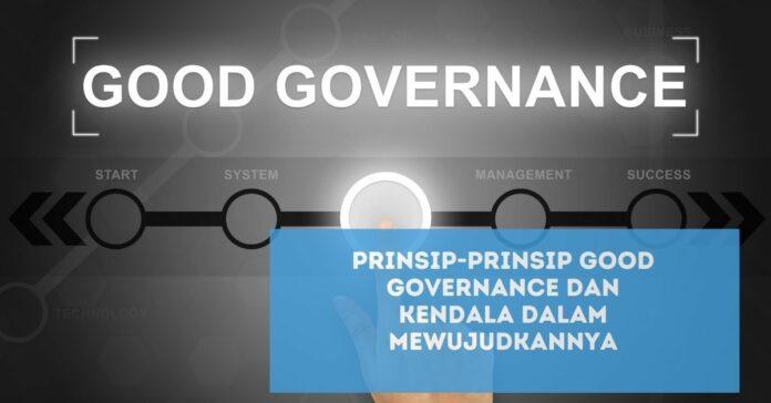 Prinsip-Prinsip Good Governance